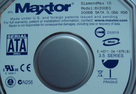 Maxtor 200GB