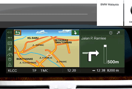 BMW Navigation System Professional