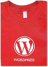 WordPress Red T-Shirt