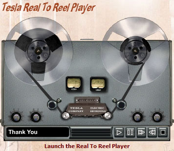 Tesla Real to Reel Player