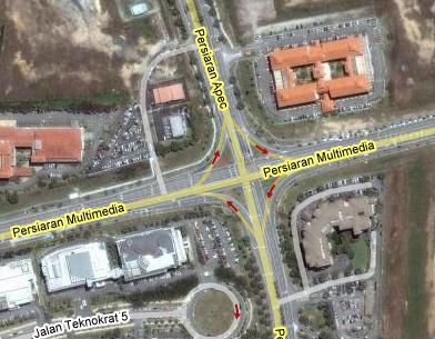 Google Maps Cyberjaya