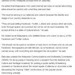 Malaysian Twitter & Facebook Users Makes Fun of Rais Yatim